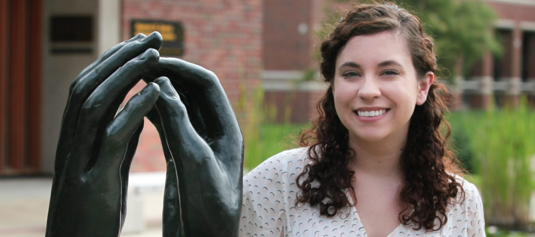 Nellie Elliot, Ulrich curatorial and education intern